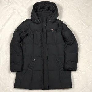Hollister Down Filled Long Winter Coat w/Hood